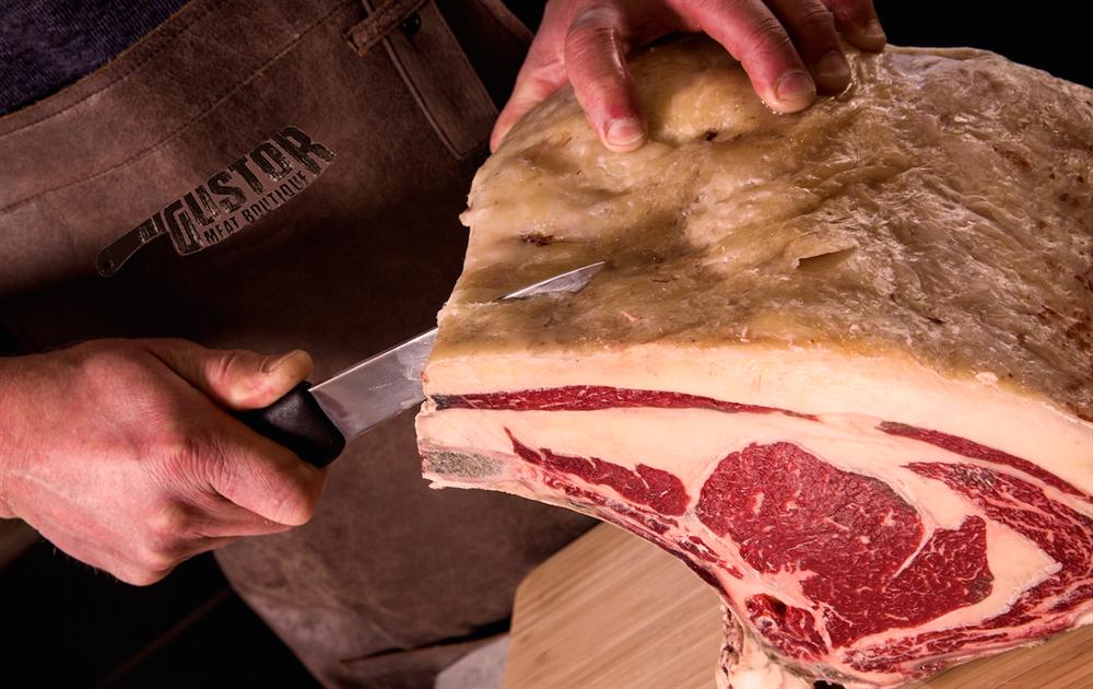 Hoe versnijden wij het vlees bij Gustor MeatBoutique