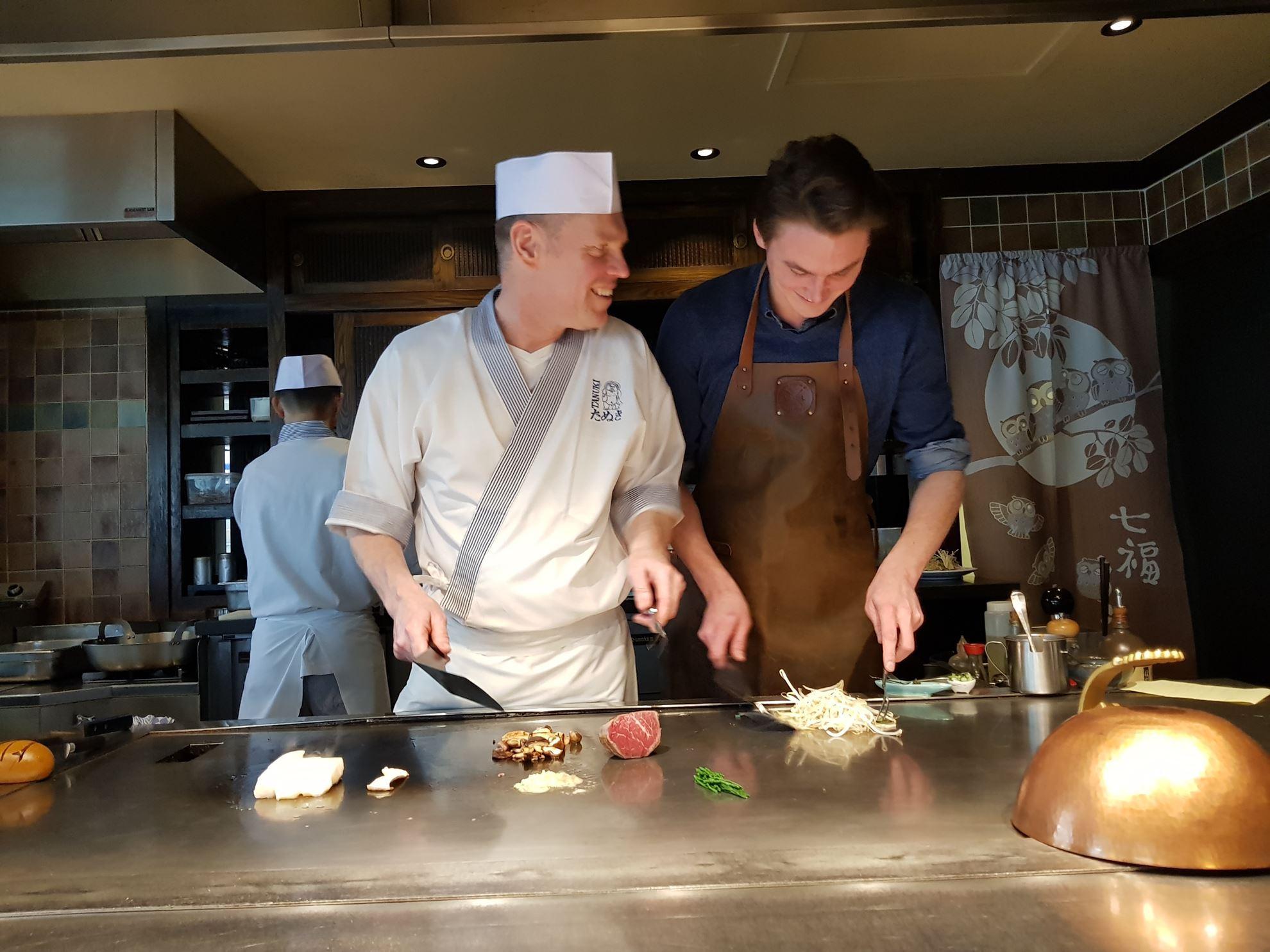 Recept: Sukiyaki van Wagyu A4 door Chef Ivan Verhelle van Japans restaurant TANUKI in Brugge.