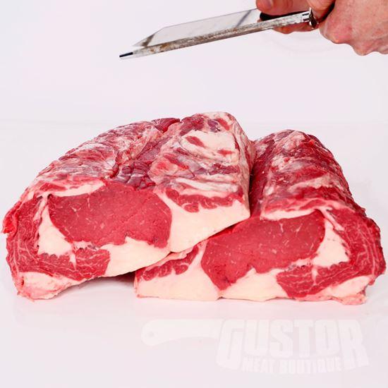 bizon rib eye, bizonvlees, bisonvlees, bizonsteak
